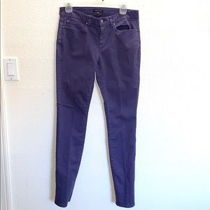 3for$20 Eileen Fisher Purple Skinny Jeans Size 4